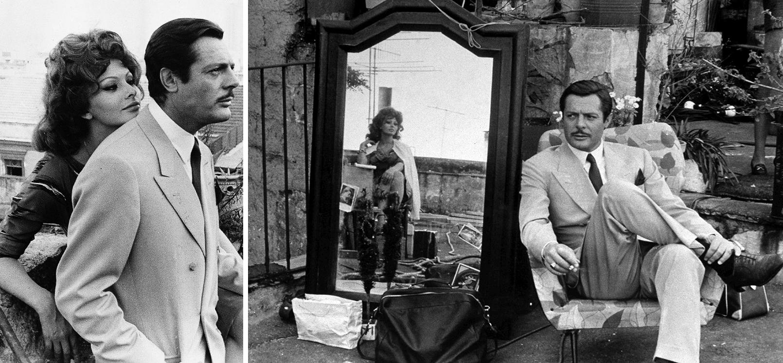 """Film """"Małżeństwo po włosku"""", wł. """"Matrimonio all'italiana"""" (1964) - Vittorio De Sica"""