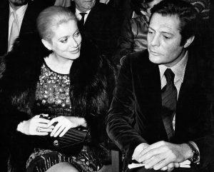Marcello Mastroianni z Catherine Deneuve