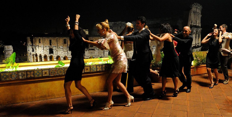Taniec w filmie Wielkie piękno