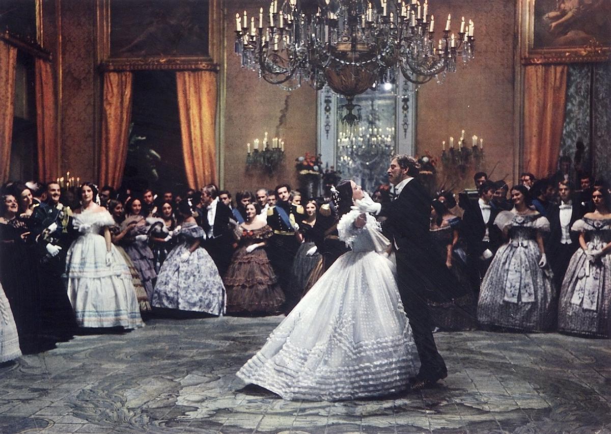 Lampart - scena tańca Cardinale z Lancasterem